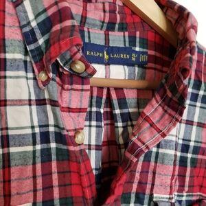 Ralph Lauren Super Soft Flannel Shirt Size Mens XL